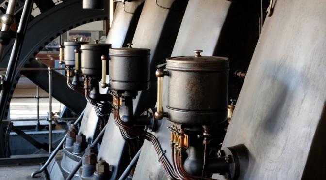 Diesel Generator from the last Century