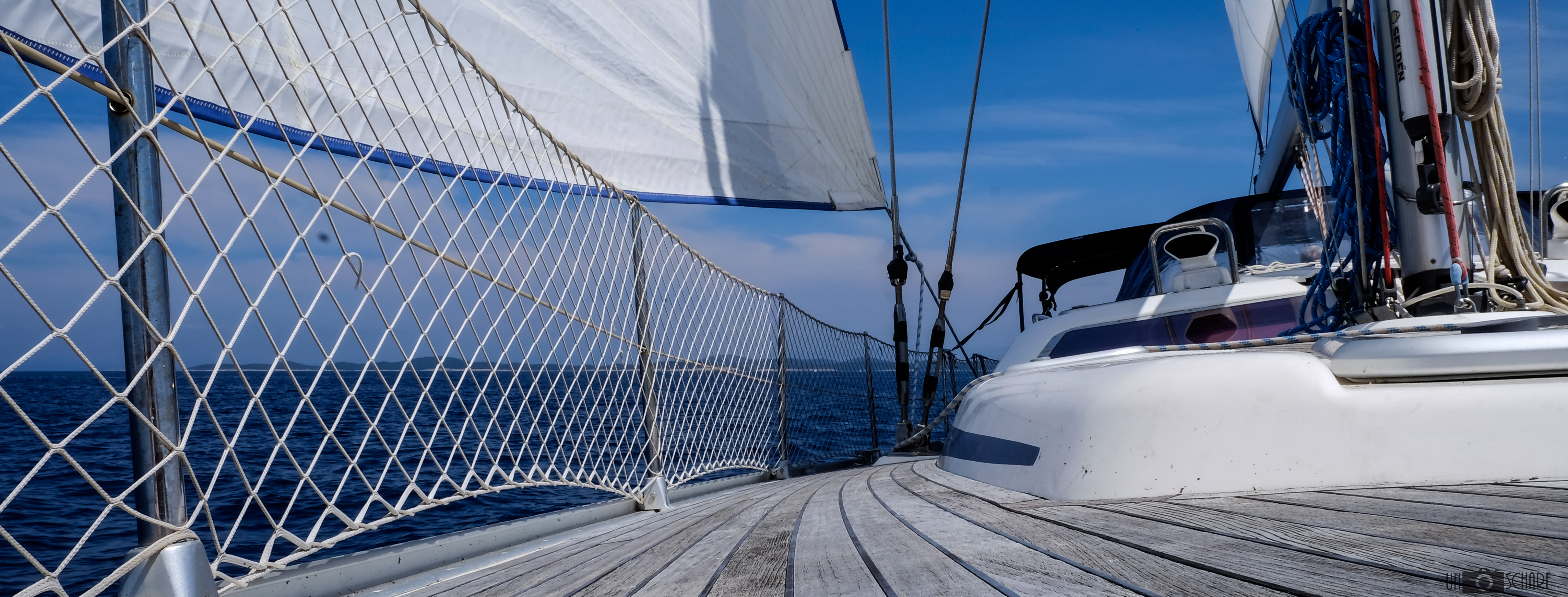 Sailing in Crotia