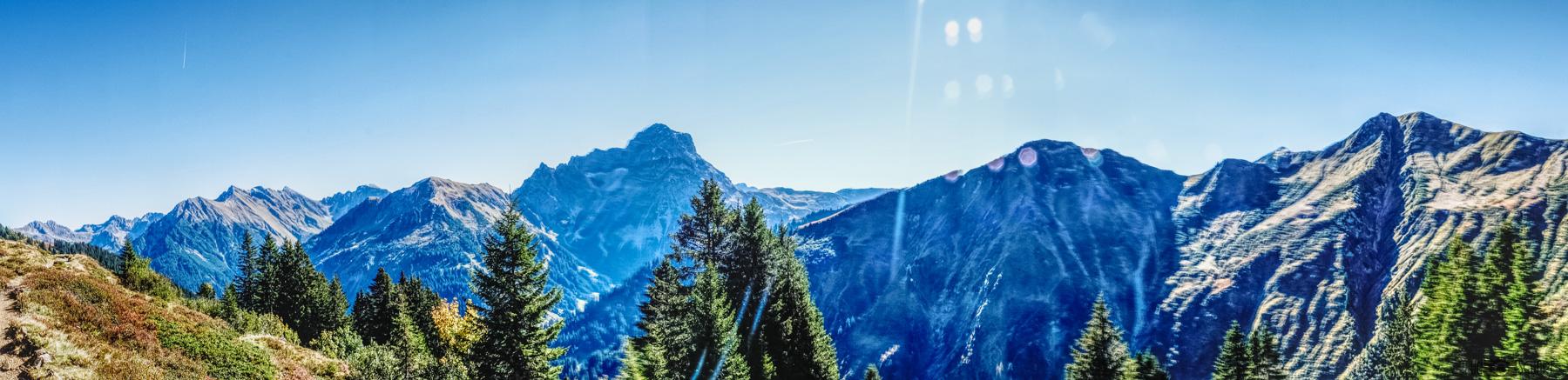 Mountain Hiking Kleinwalsertal Austria